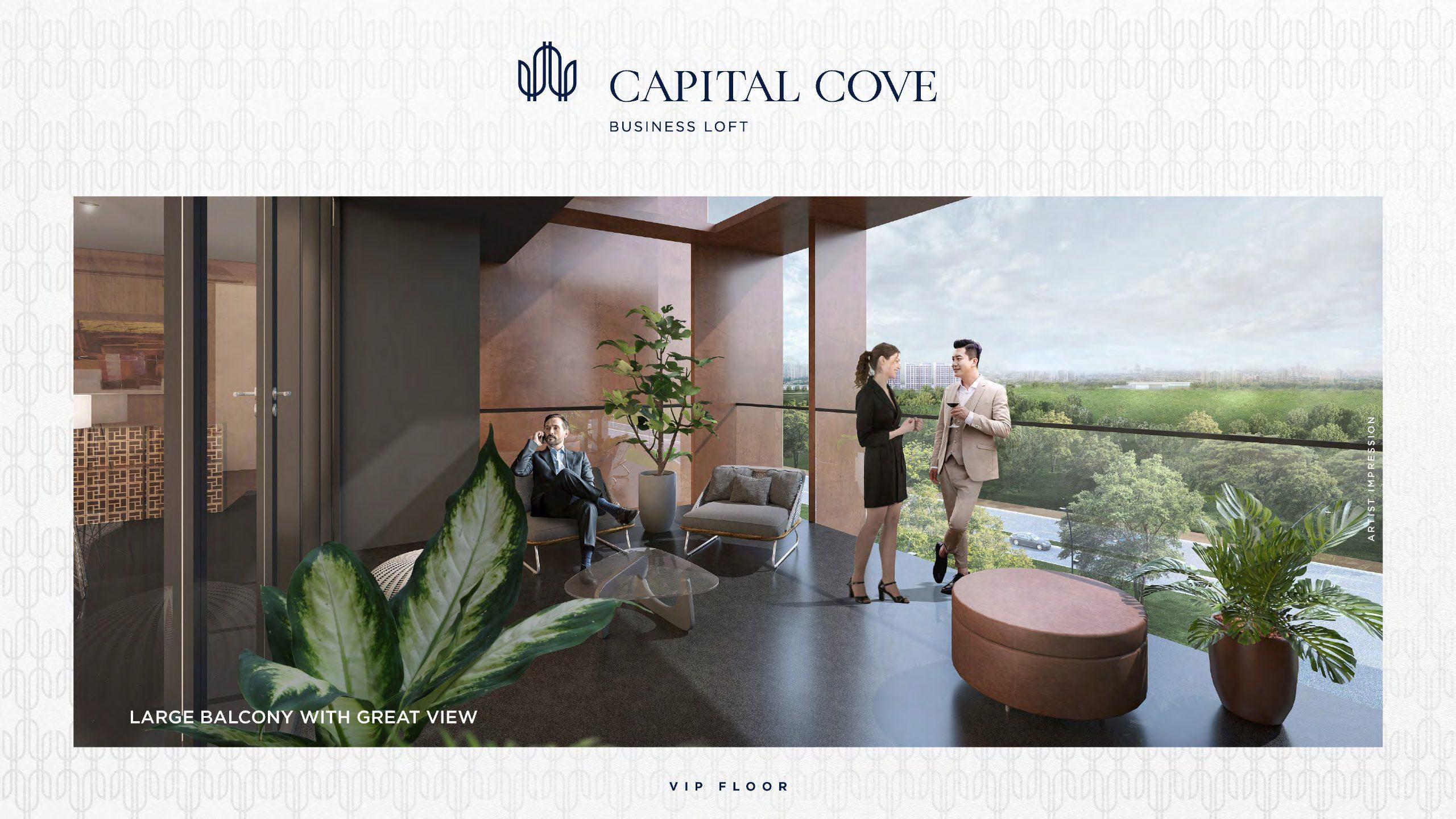 balkon capital cove