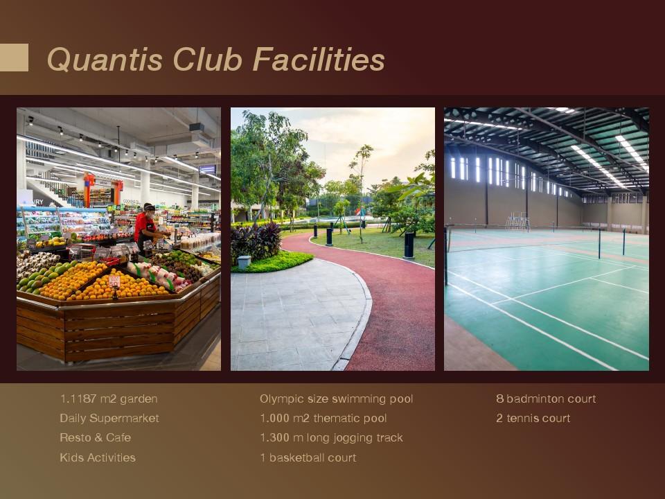 fasilitas Quantis club bsd