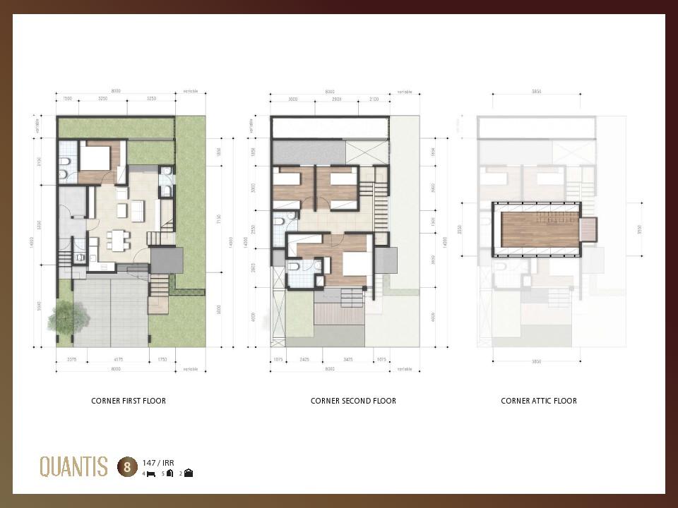 layout 8 corner