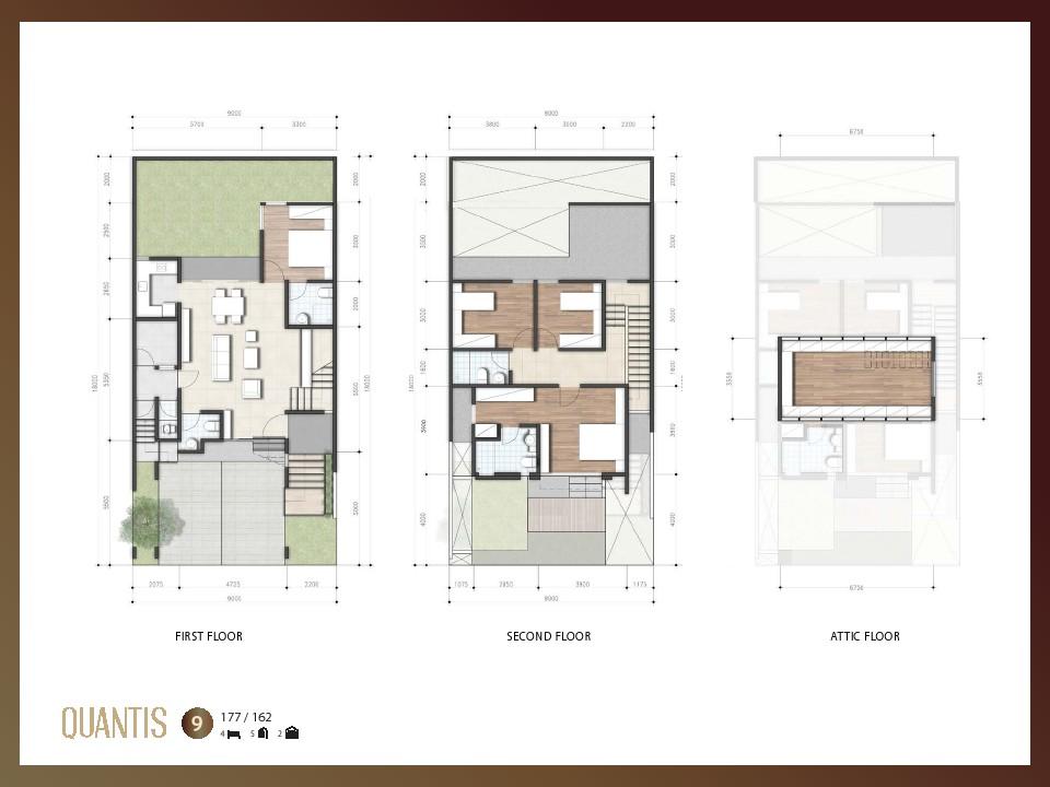 layout Quantis signature bsd city lebar 9