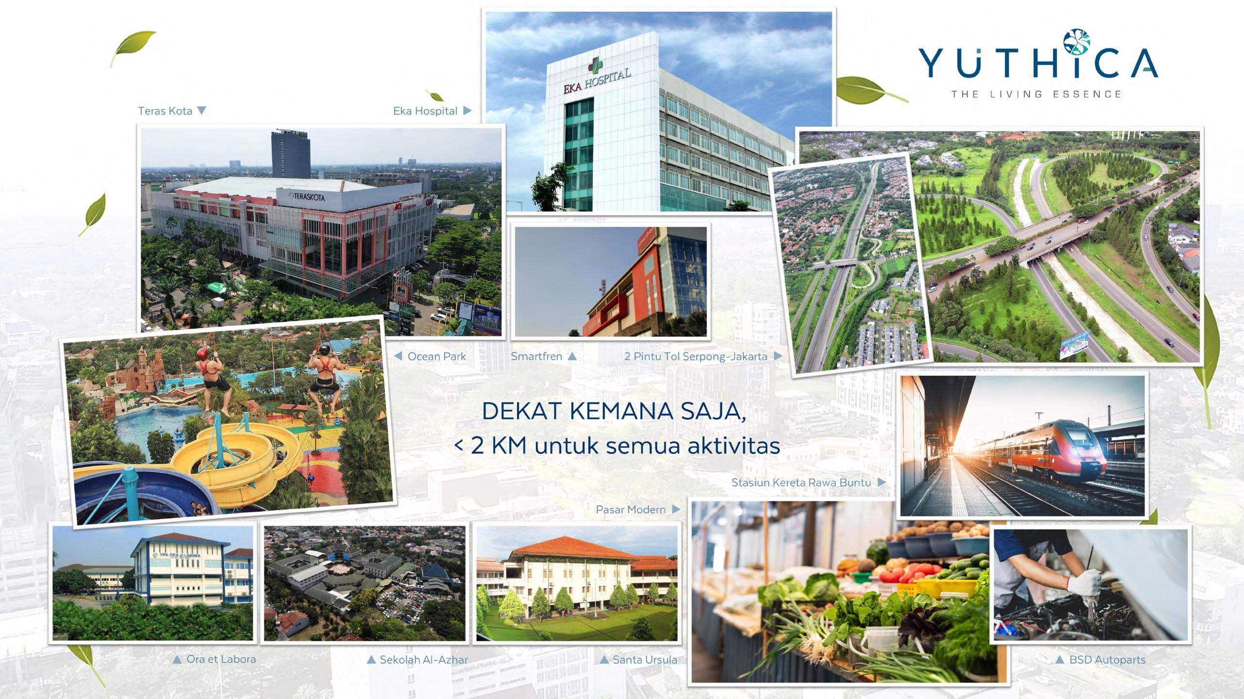 fasilitas yuthica bsd