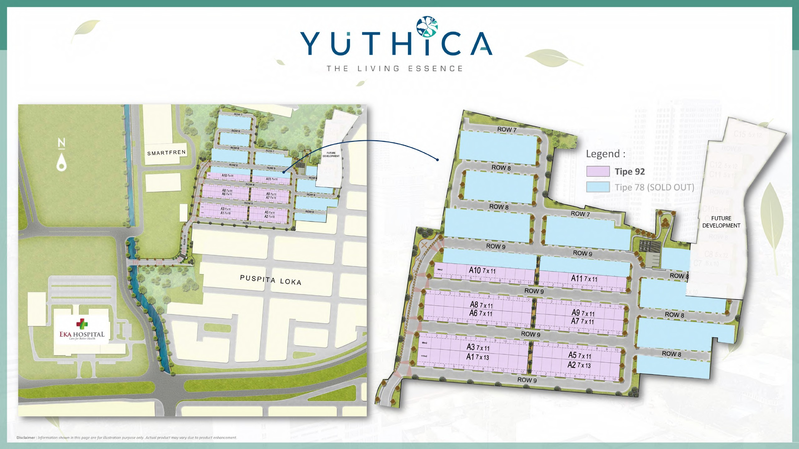 siteplan yuthica bsd tahap 3
